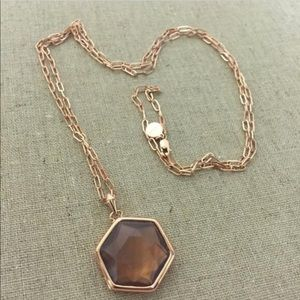 Rose gold open link chain